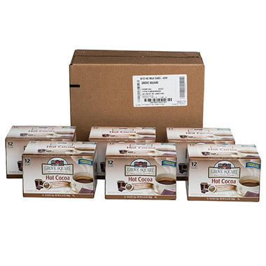 Grove Square Milk Chocolate Hot Cocoa Individual Cups - 72 ct.