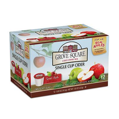 Grove Square Spiced Apple Cider, Single Serve (72 ct.)