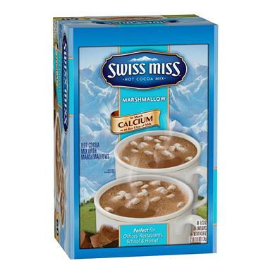Swiss Miss� Hot Cocoa Mix w/ Mini Marshmallows, 60 PKT.