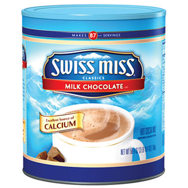 Swiss Miss Hot Chocolate (58.4 oz. Canister)