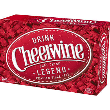 Cheerwine� Cherry Soft Drink - 24/12 oz.