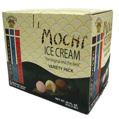Mikawaya Mochi® Ice Cream Variety - 18/2 oz. ct.