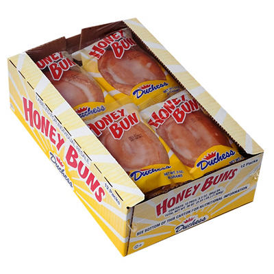 Duchess® Honey Buns - 12 pk.
