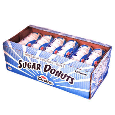 Duchess® Mini Sugar Donuts - 12/3 oz.