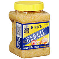 Spice World Minced Garlic (48 oz.)