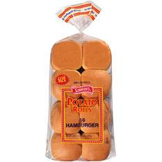 Schmidt's Potato Rolls Hamburger Buns - 30 oz. - 16 ct.
