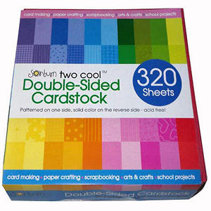 Sonburn Cardstock Prints/Solids - 320 sheets