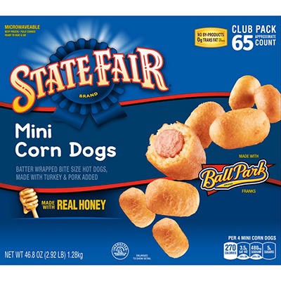 Ball Park Classic Mini Corn Dogs (65 ct., 45.5 oz.)