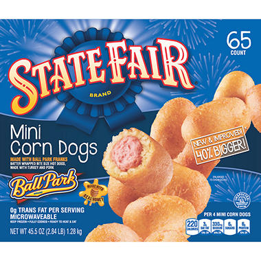 State Fair Mini Corn Dogs - 45.5 oz.
