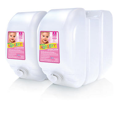 Nursery Water with Flouride - 2 Bottles - 2.5 Gallon Case