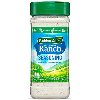 Hidden Valley Ranch Seasoning & Salad Dressing Mix (16 oz.)