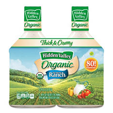 Hidden Valley Original Ranch Organic Dressing (2 pk., 40 fl. oz. Bottles)