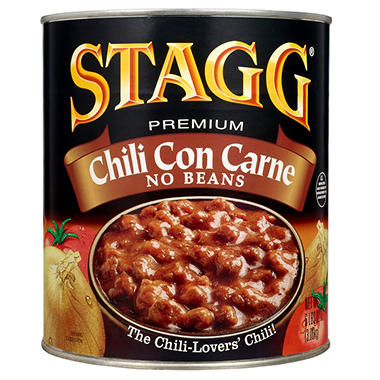 Stagg Chili Con Carne - 108 oz.