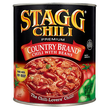 Stagg� Country Brand� Chili with Beans - 108 oz. Can