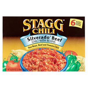 Stagg Silverado Beef Chili with Beans - 6/15 oz.
