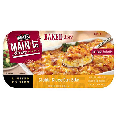 Main Street Bistro Baked Side Cheddar Cheese Corn Bake - 40 oz.