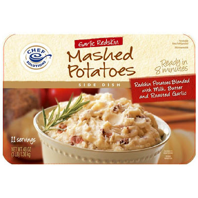 Garlic Redskin Mashed Potatoes - 48 oz.