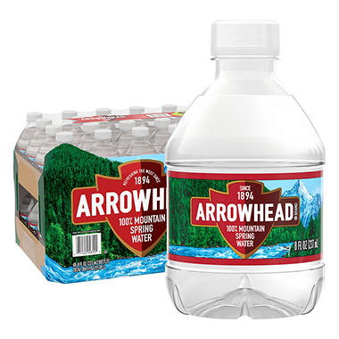 Arrowhead� Mountain Spring Water - 48/8 oz.