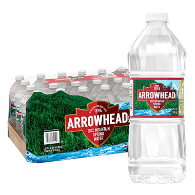 Arrowhead� Mountain Spring Water - 28/20 oz. bottles