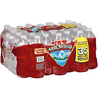 Arrowhead 100% Mountain Spring Water (16.9 fl. oz. bottles, 35 pk.)