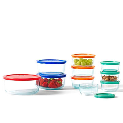 Pyrex Glass Storage Set - 20 pc.