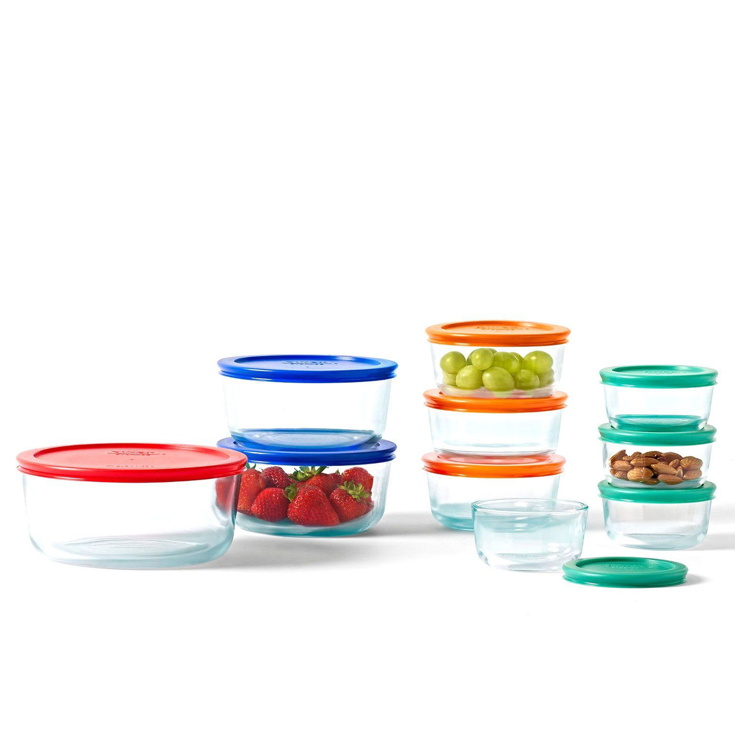 pyrex glass kitchen food storage set lunch box container. Black Bedroom Furniture Sets. Home Design Ideas