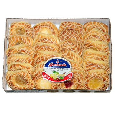 Svenhard's® Swedish Bakery Asst. Danish - 24 ct.
