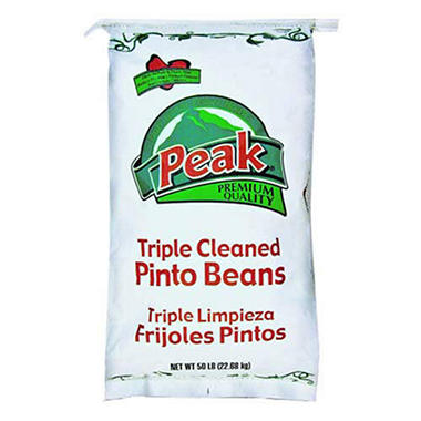 Peak® Pinto Beans - 50 lb. bag