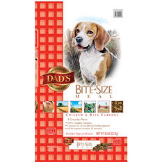 DAD'S Bite Size Meal Dry Dog Food, 50 lbs.