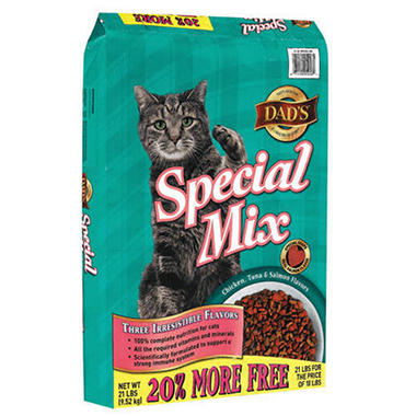 Dad's® Special Mix Cat Food - 21 lbs.