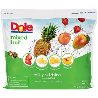 Dole� Wildly Nutritious Signature Blends Mixed Fruit - 6 lb.