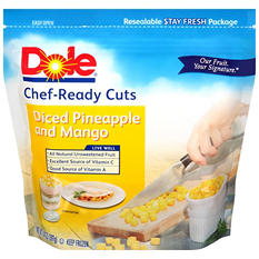 Dole Diced Pineapple and Mango Chunks - 4 lbs.