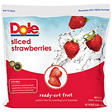 Dole® Sliced Strawberries - 80 oz. bag