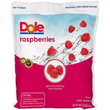 Dole® Raspberries - 48 oz.