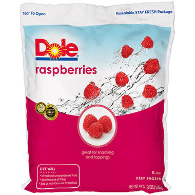 Dole® Raspberries - 48 oz.