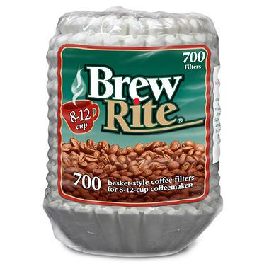 Brew Rite® Coffee Filter - 700 ct.
