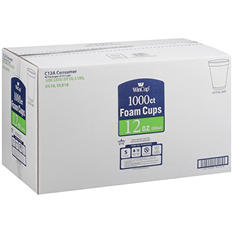 WinCup® Foam Cups - 12 oz./1000 ct.