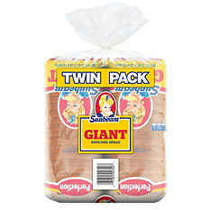 Sunbeam Giant Bread (24 oz. loaf, 2 ct.)