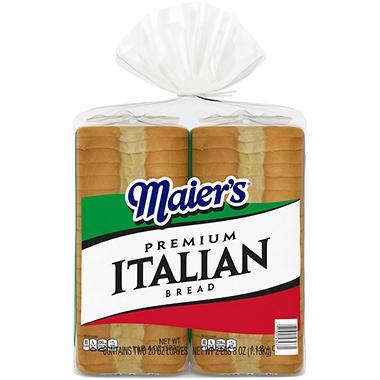 Maier's Italian Style Bread - 20 oz. - 2 pk.