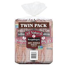 Koepplinger's Recipe 100% Whole Wheat Bread (48 oz., 2 pk.)
