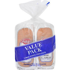 Freihofer's Large White Bread (20 oz. loaf, 2 pk.)