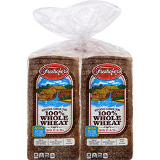 Freihofer's 100% Whole Wheat Bread (48 oz., 2 pk.)