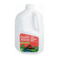 Meadow Brook 1% Lowfat Milk  (1 gal.)