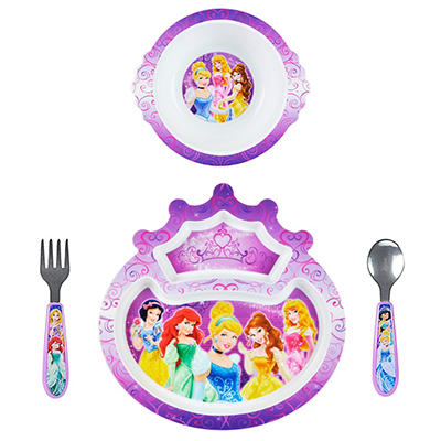 TOMY Disney Princess Feeding Set (4 pc. set)