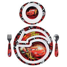 TOMY Disney/Pixar Cars 2 Feeding Set (4 pc. set)