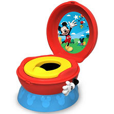 TOMY Disney Baby Mickey Mouse 3-in-1 Celebration Potty System