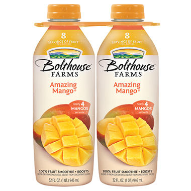 Bolthouse Farms Amazing Mango - 32 oz. bottles - 2 pk.