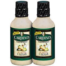 Cardini's Caesar Dressing - 2/20 oz.
