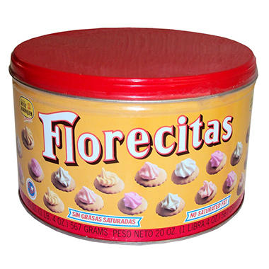 Royal Borinquen Florecitas Cookies - 20 oz.