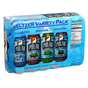 Polar Seltzer Variety Pack - 24/12 oz.